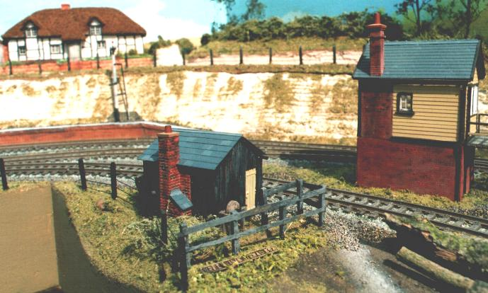 With careful painting and weathering   even mundane buildings can add to   the interest of any model railway.