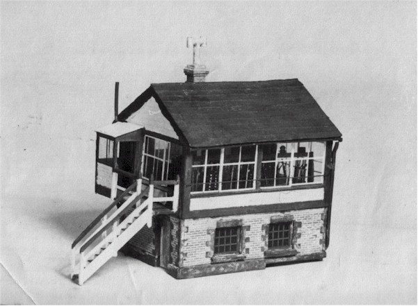 Click here for a photo of the   original Signal Box and some   shots of the interior. . .