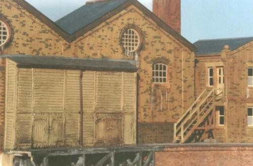 The Boiler House -   from the two-halves   of a goods shed kit!
