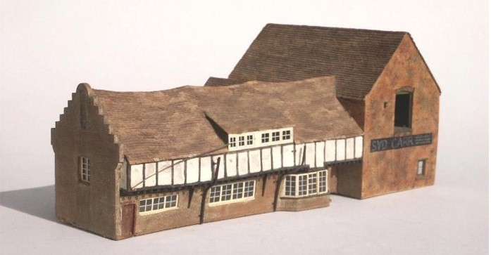 A photo of the first PROPER model   building I ever attempted.             Click here for 7 more!