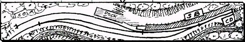 The deceptively simple track       plan of Withy Bottom.