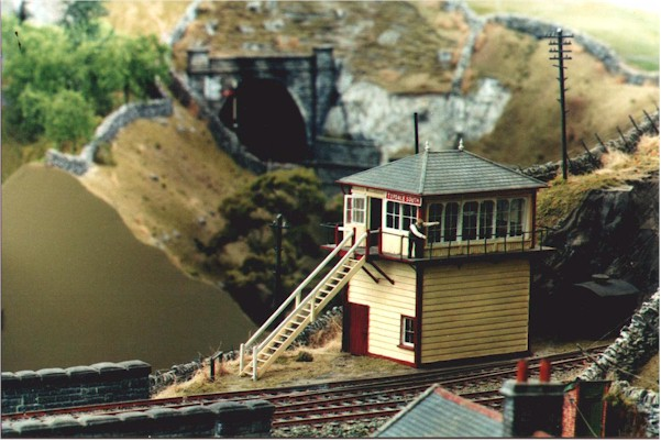 Another view   of signal box.