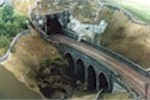 Tupdale - A viaduct crossing a Scar.
